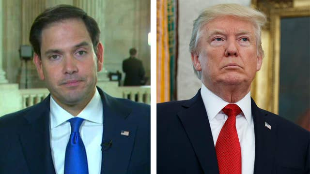 Rubio: Trump won't sign a tax increase on working families