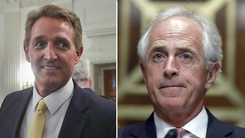 How will Congress be affected by loss of Flake, Corker?