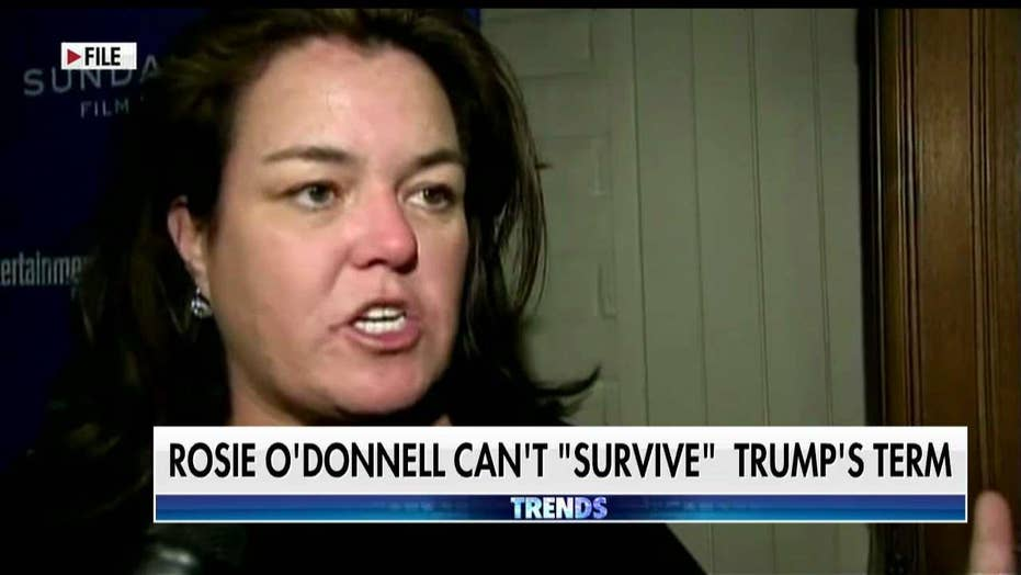 Rosie O'Donnell worries if she can live through Trump presidency