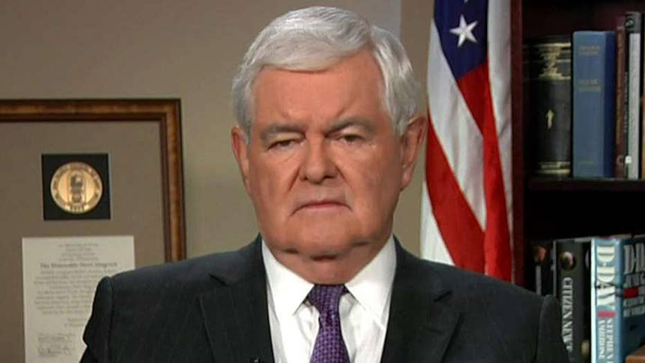 Newt Gingrich blasts the 'arrogance' of Democrats on Russia