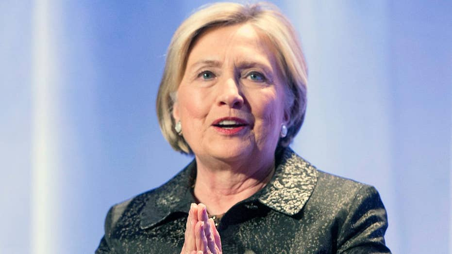 Hillary Clinton claims the Republican Party is 'imploding'