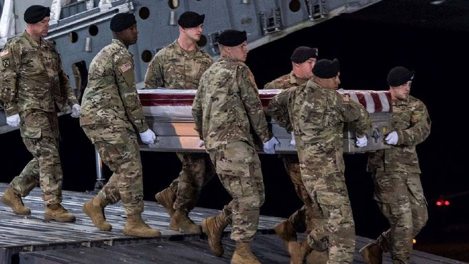 Pentagon officials brief lawmakers on Niger attack