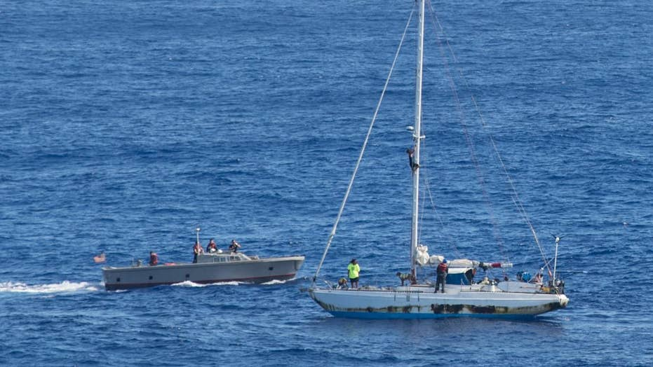Navy rescues mariners, dogs stranded at sea for months