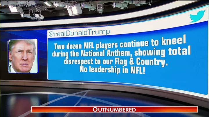 Public sides with Trump, against NFL on anthem protests.