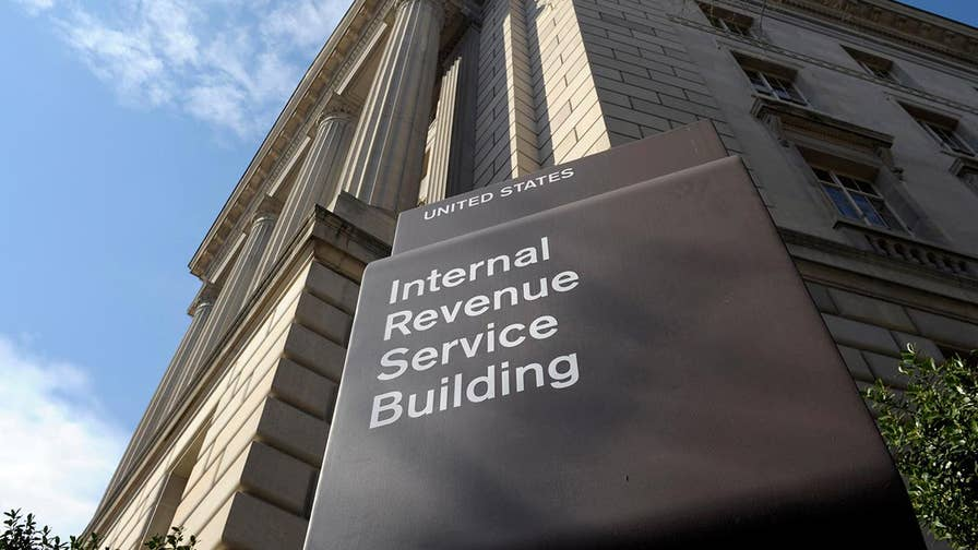 As part of settlement of two lawsuits, the IRS admits that its treatment of plaintiffs during tax-exempt determination process was wrong; Peter Doocy reports from Washington.