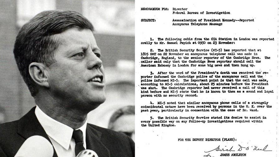 a report on the american presidents john f kennedys assassination While the 35th president left a mixed legacy following his assassination in has become commonplace in american of president john f kennedy.