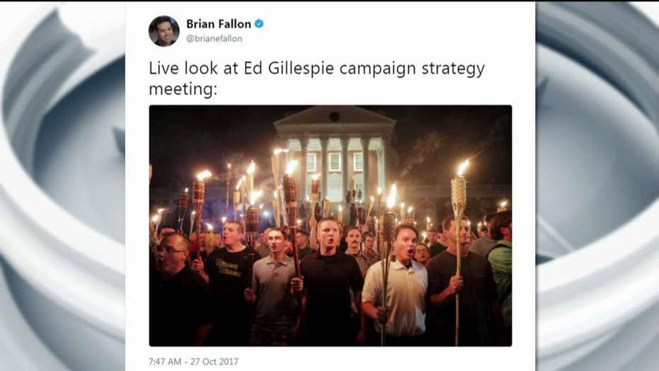 Brian Fallon Tweets at Ed Gillespie Camp