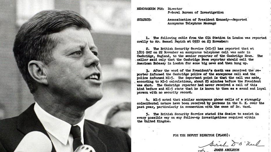 JFK files: First look at records open new questions