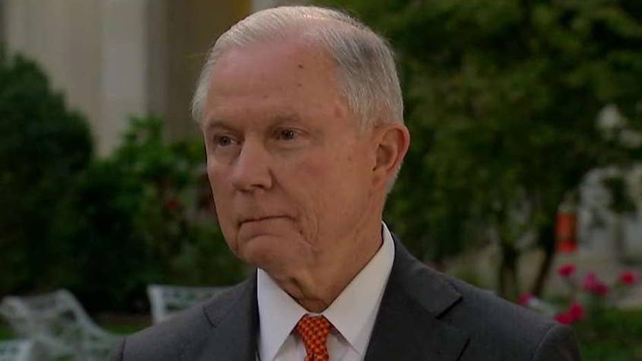 Sessions on opioid crisis, FISA, Trump agenda, Russia probes