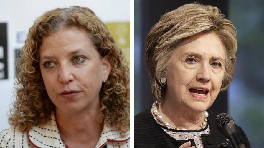 What if former Clinton campaign manager John Podesta, former DNC chair Debbie Wasserman Schultz and other leaders are lying about their knowledge of Fusion GPS and the DNC and Clinton campaigns funding the Trump dossier? #Tucker