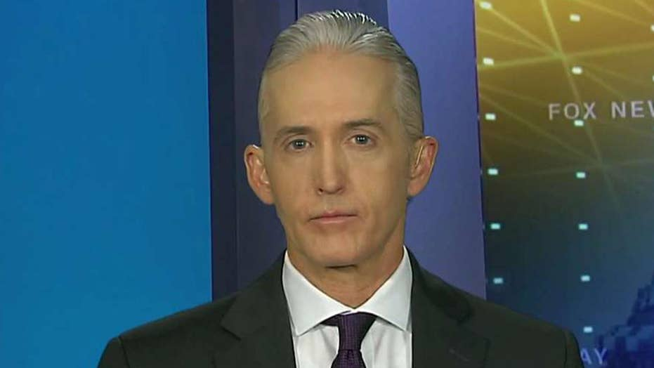 Rep. Gowdy on Russian dossier and accusations of collusion