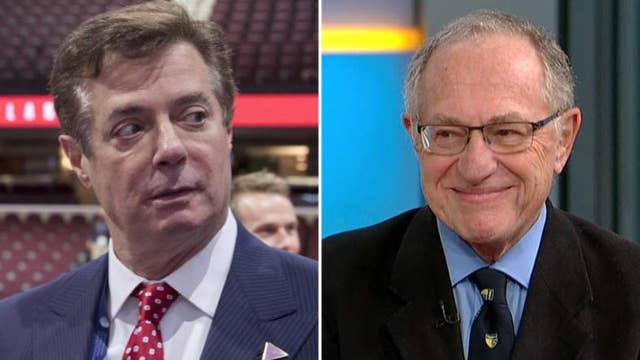 Alan Dershowitz explains why Mueller went after Manafort