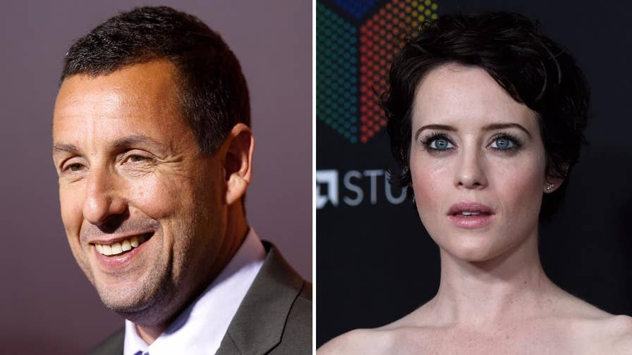 Fox411: Fans took to Twitter to question Adam Sandler's behavior when he repeatedly touched actress Claire Foy's knee during an interview on 'The Graham Norton Show.'