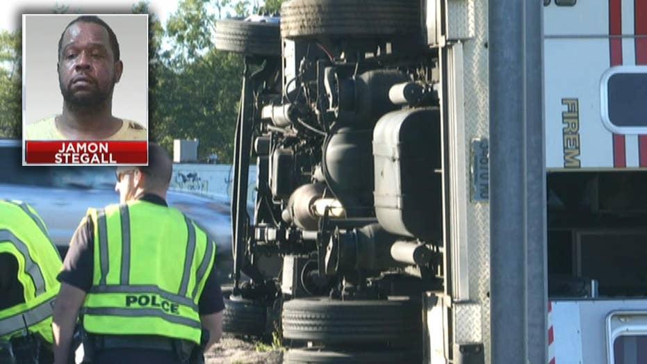 Suspect steals ambulance, police pursuit ends in crash