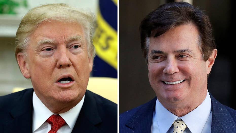 Trump responds to Manafort indictment on Twitter