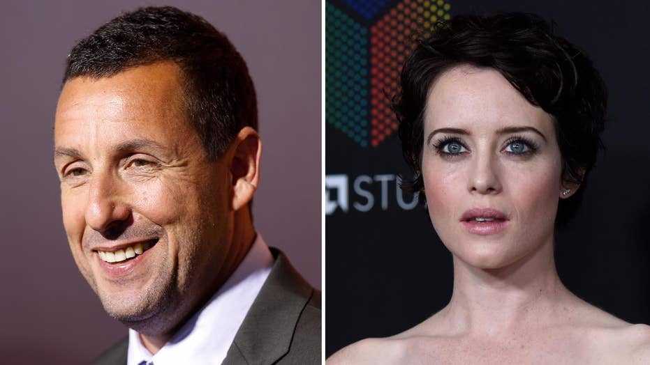 Adam Sandler's behavior during interview slammed on Twitter