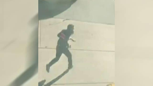 Video appears to show suspect in NYC attack