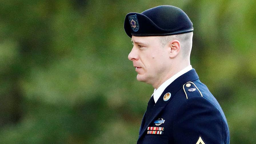 Army sergeant apologizes to service members wounded in the hunt to save him; Jonathan Serrie reports on the testimony.