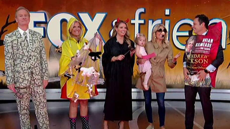 'Fox & Friends' Halloween costumes unveiled