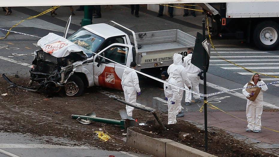 FBI investigating New York attack; at least 8 killed