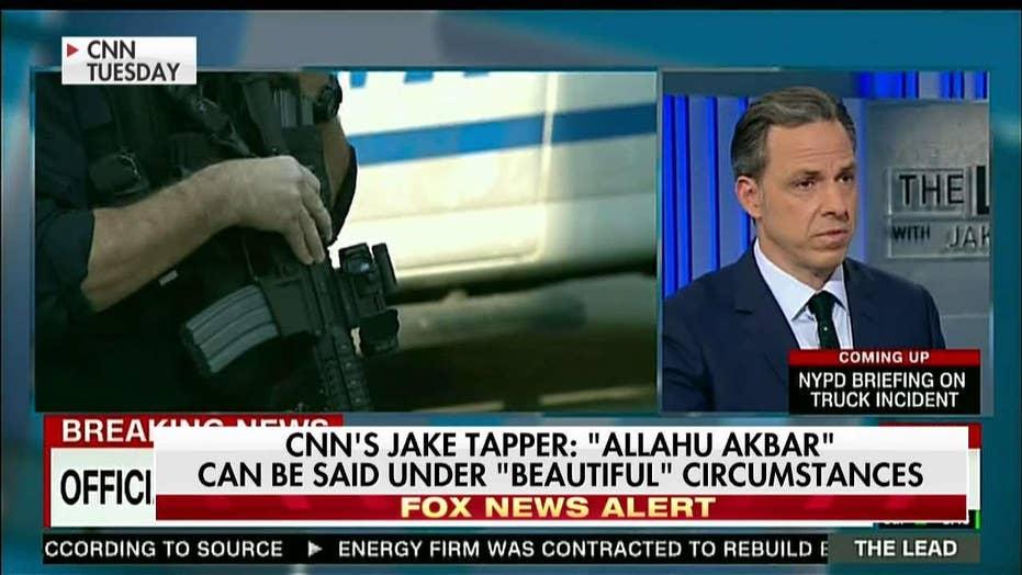 Mainstream media reacts to New York City terror attack
