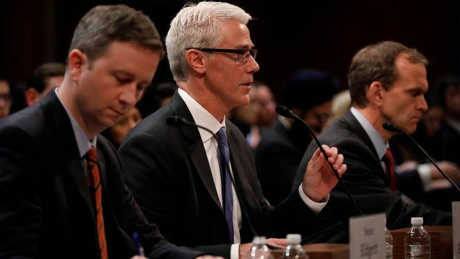 Lawmakers grill social media executives on Capitol Hill