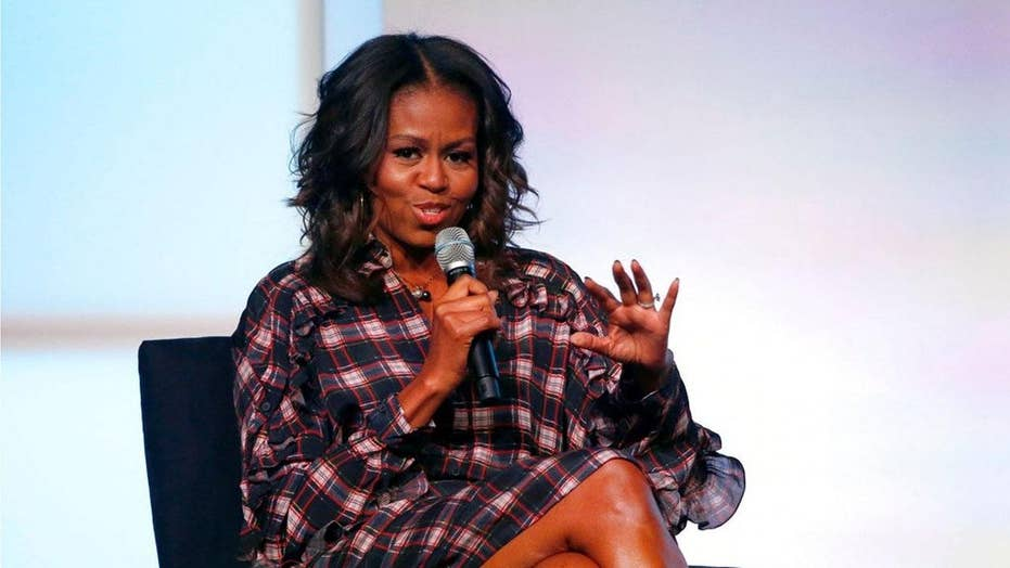 Michelle Obama calls men 'entitled' and 'self-righteous'