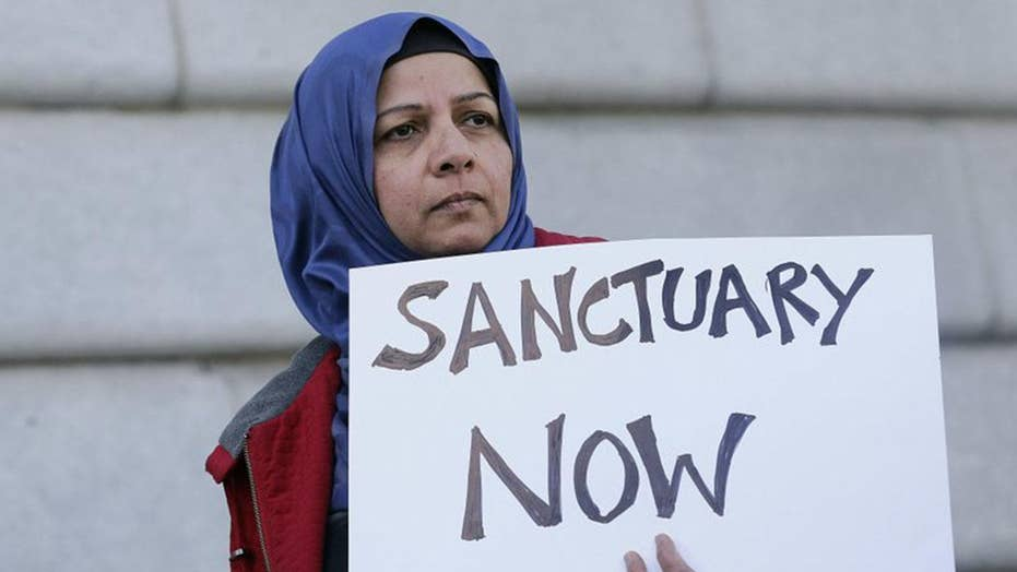 Sanctuary showdown between the DOJ and California