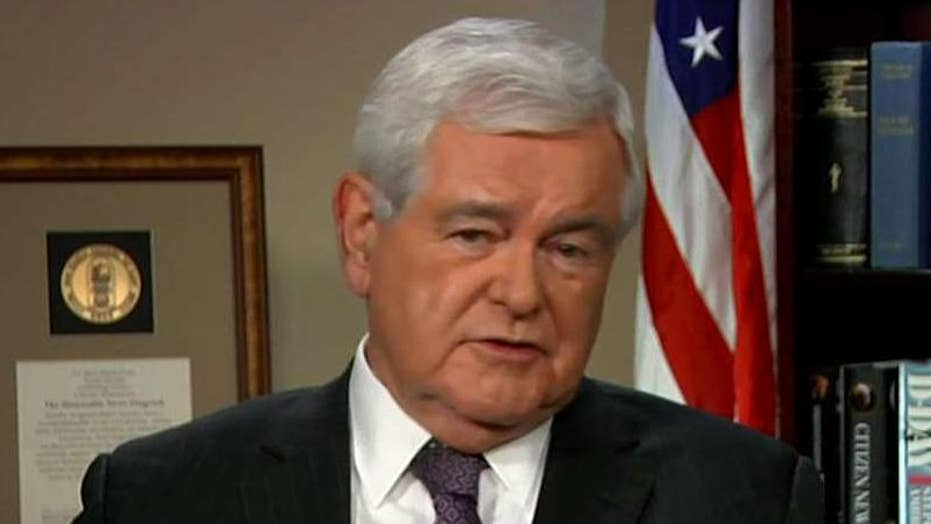 Gingrich on handling of NYC terror suspect, GOP tax cut plan