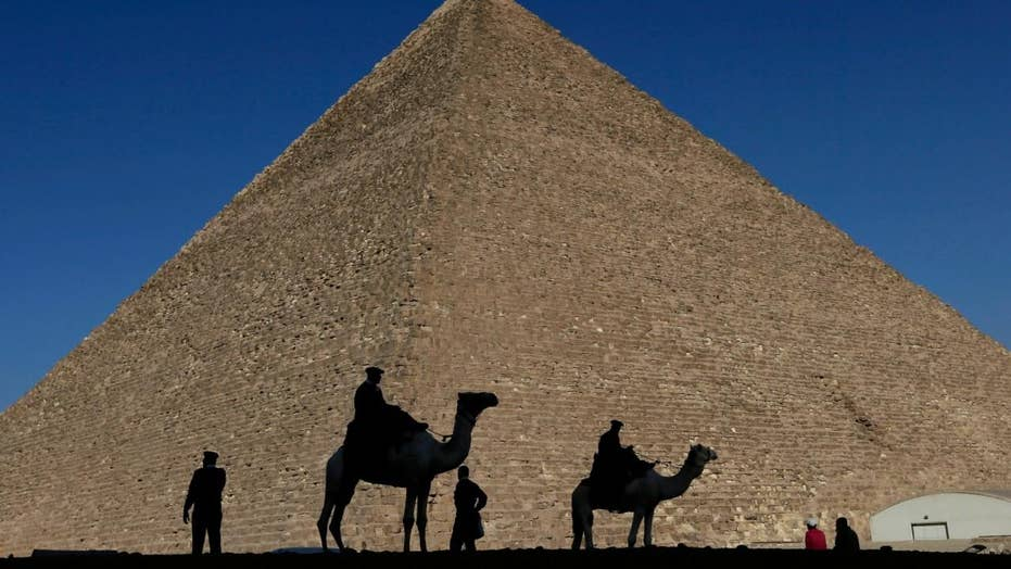 Egypt pyramid discovery: Secret chamber found in Giza
