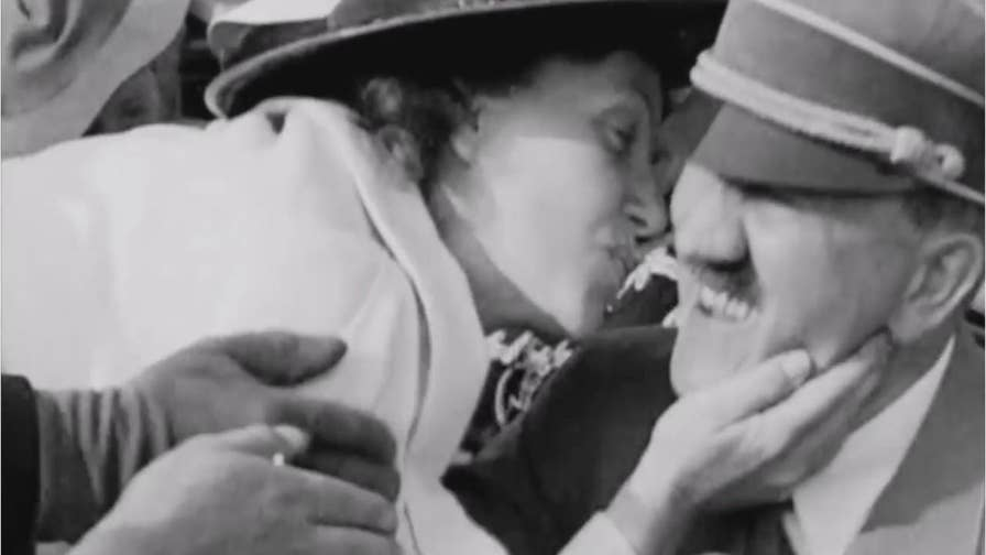 An American woman managed to surprise Hitler with a kiss at the 1936 Summer Olympics in Berlin and it did not end well for his security guards.