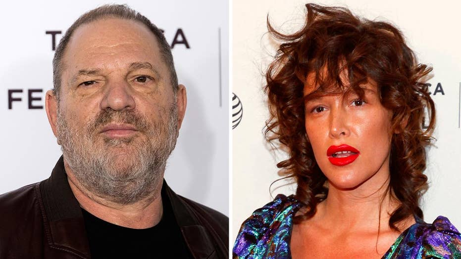 Actress Paz de la Huerta accuses Harvey Weinstein of rape