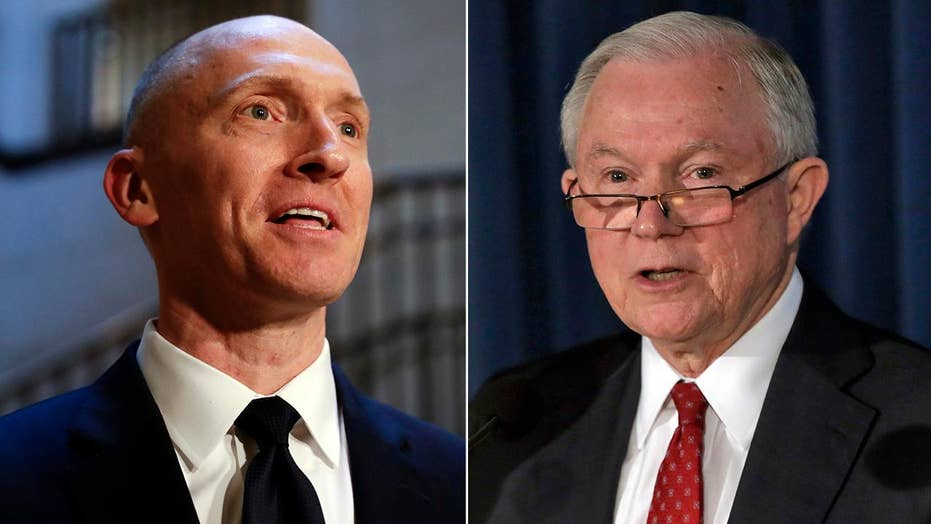 Carter Page contradicts Jeff Sessions about Russia trip