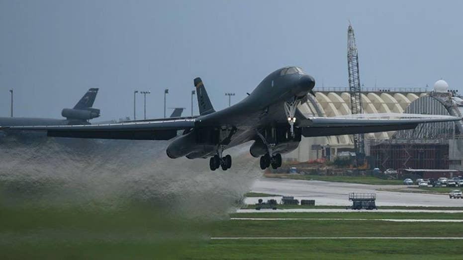 US bombers conduct exercises over Korean peninsula