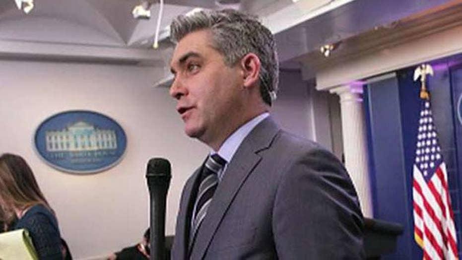 Tucker: CNN's Jim Acosta is a fraud 'hard news' journalist