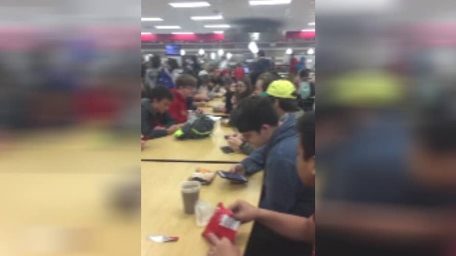 Tampa area high school segregates students at lunch