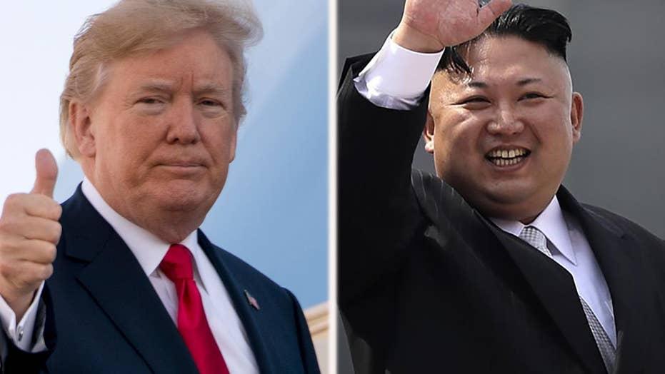 Eric Shawn reports: Pres. Trump's message to Kim Jong Un