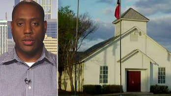 Former Nashville police officer Vincent Hill reacts to mass shooting at Texas church.