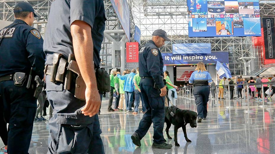 NYPD prepares largest security team in NYC marathon history