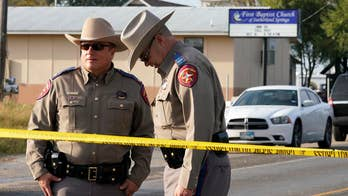 Devin Patrick Kelley stormed into the First Baptist Church in Sutherland Springs, Texas on Sunday and killed at least 26 people; insight from Tulsa police officer Sean Larkin.