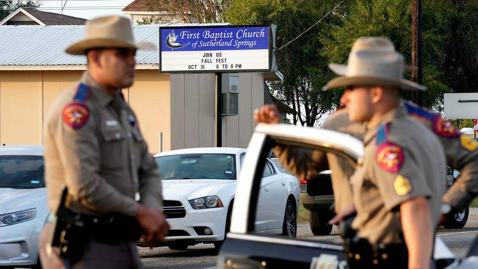 Officials seeking concrete motive in Texas church massacre