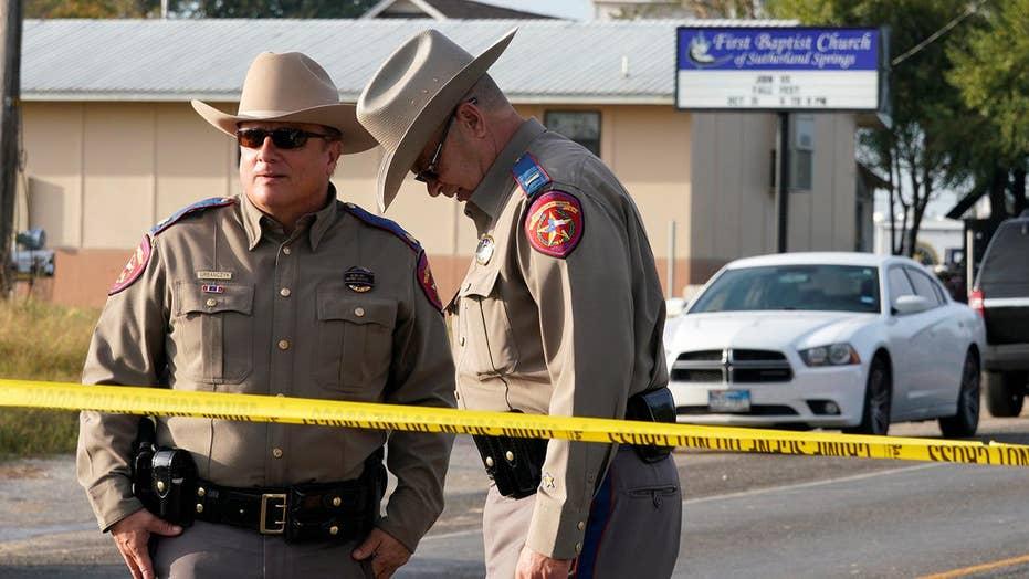 Authorities hunt for motive in Texas church massacre