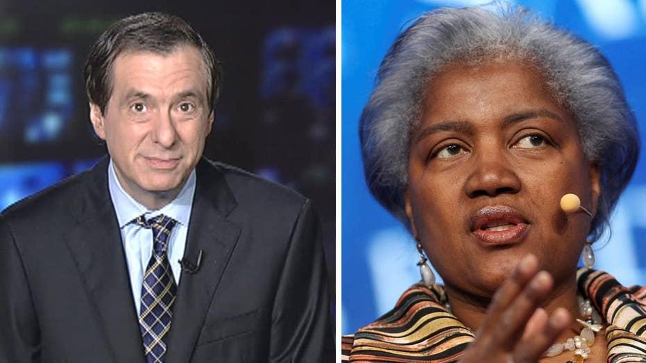 Kurtz: Hillary Democrats furious at Donna Brazile