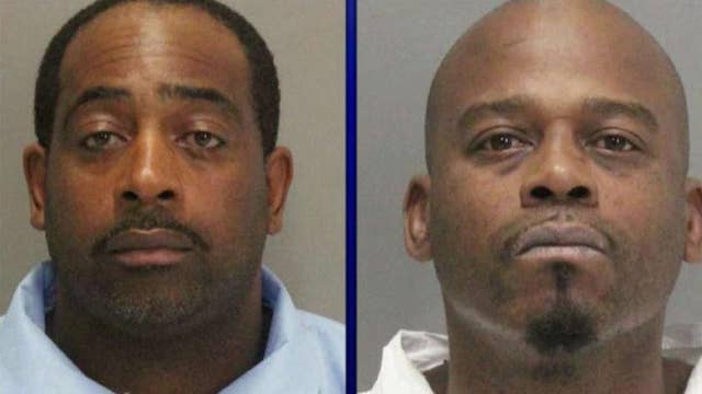 'Dangerous' inmates escape from California court