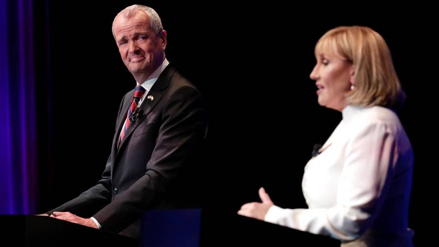 Democrat Phil Murphy and Republican Kim Guadagno are the top contenders to replace Chris Christie in the New Jersey gubernatorial race.  Here's what's at stake and how the 'Trump effect' could impact the Garden State election.