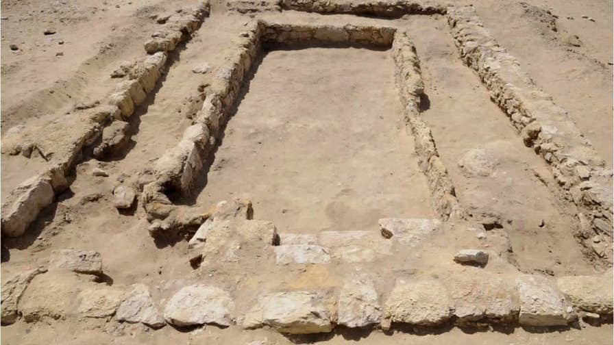 Archaeologists have found remnants of an ancient gymnasium outside Cairo, Egypt dating back about 2,300 years, from the Hellenistic period.