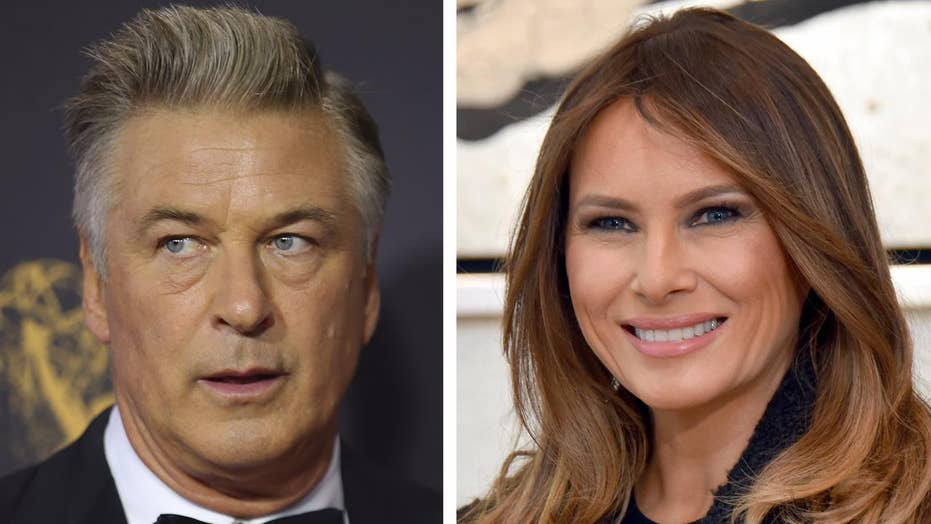 Alec Baldwin called out for phony Melania Trump claim