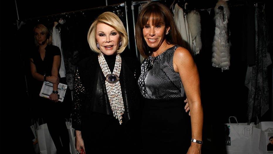 Melissa Rivers unveils mom Joan Rivers' treasure trove