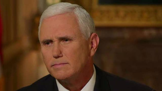 Pence on Texas rampage, taxes, ObamaCare, Trump relationship