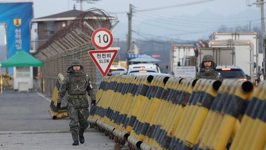 Trump attempted to visit DMZ, turned back due to bad weather